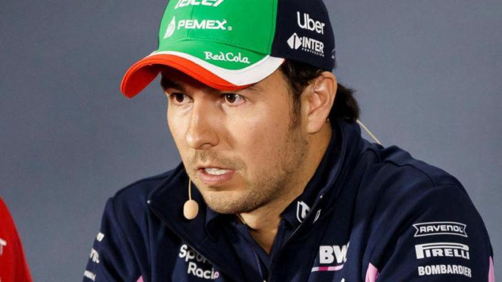 Sergio Pérez es el primer piloto de la F1 con coronavirus