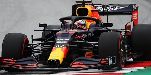 Verstappen de la escudería Red Bull el mejor en Austria 1