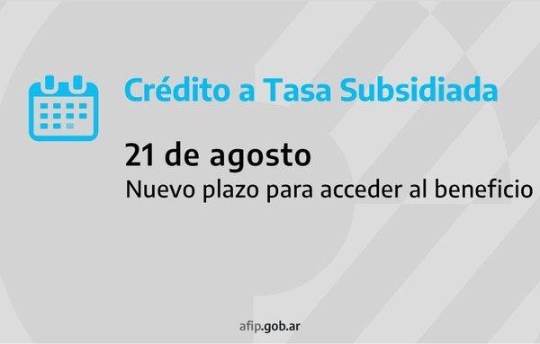 ATP: extienden el plazo para tramitar créditos a tasa subsidiada para pagar salarios