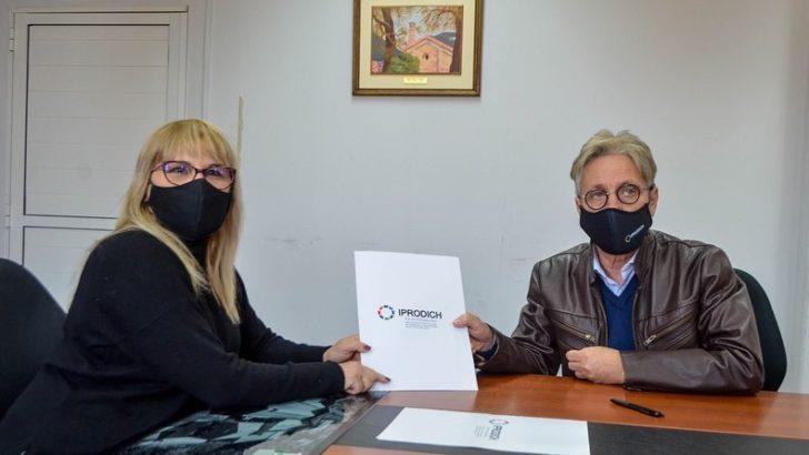 Fontana: Iprodich y la Municipalidad fortalecen la atención de las personas con discapacidad