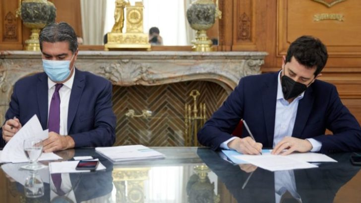 Chaco y Nación suscribieron convenios de financiamiento de obras estratégicas para la provincia