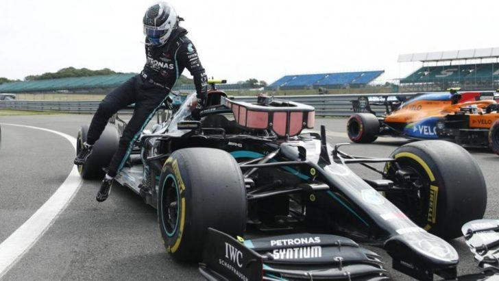 Bottas, se quedó con la «pole» en Silverstone