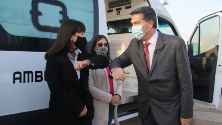 El gobierno incorporó 23 ambulancias al sistema de salud