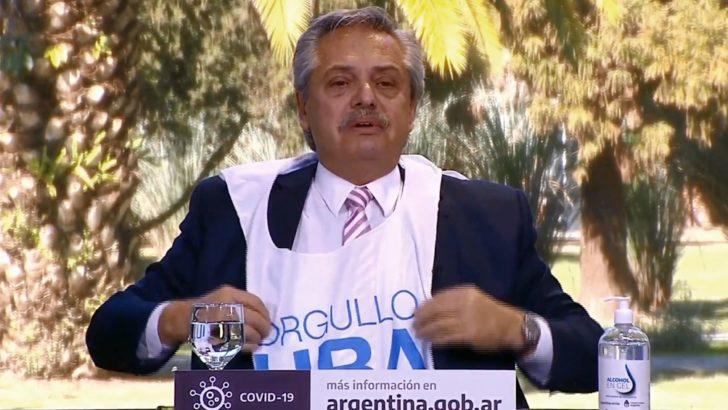 """En el aniversario de la UBA, Alberto se mostró orgulloso """"de haber caído en la universidad pública"""""""