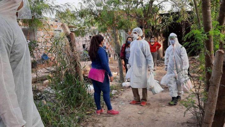 Fontana: realizaron un operativo para garantizar contención alimentaria a 300 familias