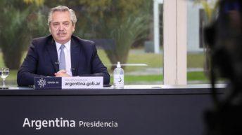 Frente de Todos: Alberto llamó a la unidad de la alianza gobernante durante un acto con dirigentes