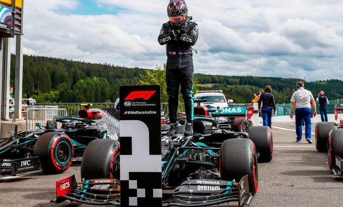 Hamilton consiguió una nueva «pole»