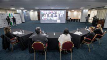 Mes de la Niñez: Capitanich y Arroyo anunciaron obras para centros de primera infancia