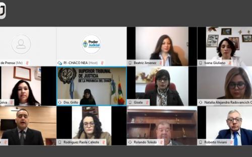 Poder Judicial: juraron abogadas y abogados con modalidad virtual