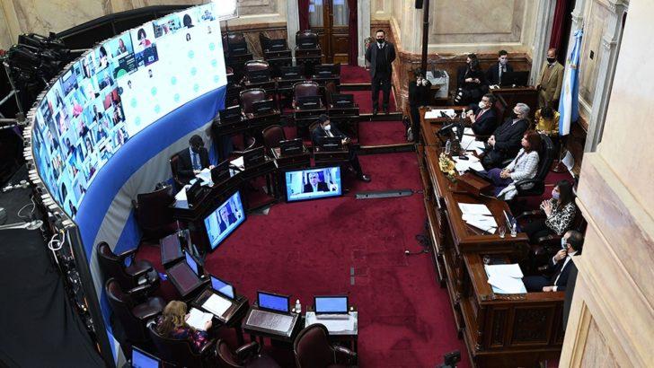 Reforma judicial: en el Senado, se avanzó con la propuesta oficialista, pese al rechazo opositor