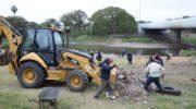 Resistencia: el Municipio acompañó a voluntarios ambientales en la limpieza del Río Negro
