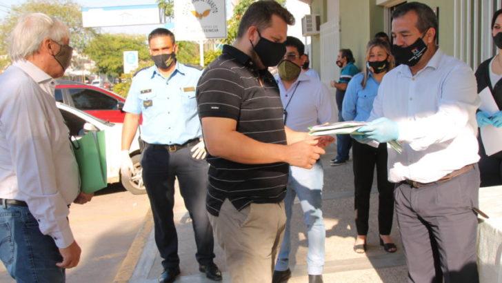 Resistencia: empresas de colectivos urbanos recibieron los protocolos y nuevos mapas de recorridos