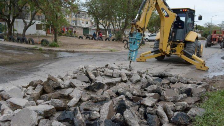 A través del Plan ECO, Resistencia reparó más de 140 baches en la zona oeste