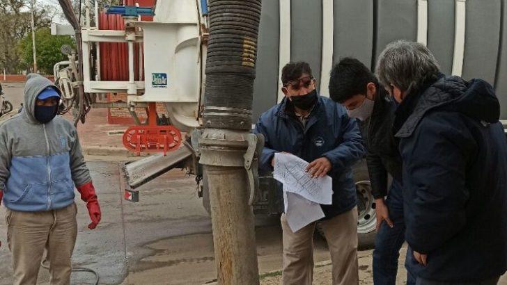 Avanzan con el operativo de saneamiento de las cuencas cloacales en barrios de Resistencia