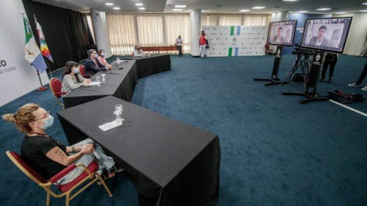 Capitanich y Arroyo anunciaron la remodelación de cuatro centros de fortalecimiento familiar