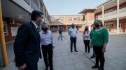 En Barranqueras, Capitanich constató el avance de las obras en la Escuela Técnica N° 2 «José de San Martín»