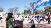 Fuerte Esperanza: la vicegobernadora encabezó el acto por el 42° aniversario de la localidad