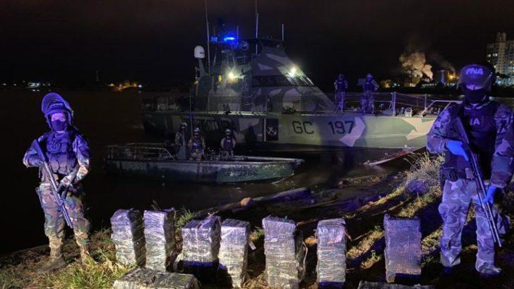 Golpe al narcotráfico en Formosa