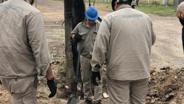 Incendio en la estación transformadora: Secheep trabaja para abastecer el servicio