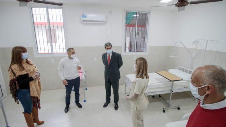 Plaza: inauguraron la refuncionalización del hospital y más cuadras de pavimento