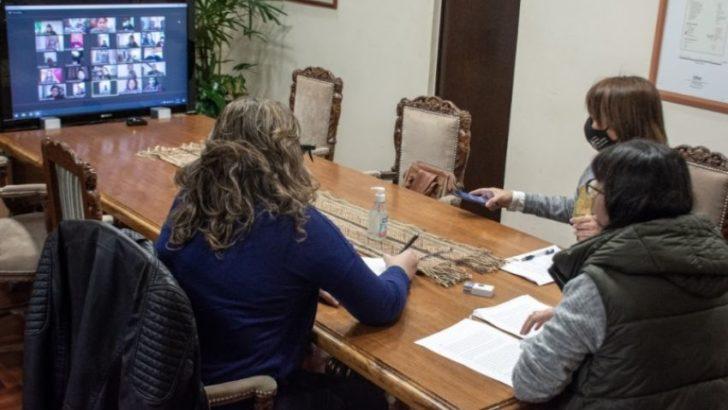 Rach Quiroga encabezó el primer Encuentro de Concejalas y Concejales de la Provincia