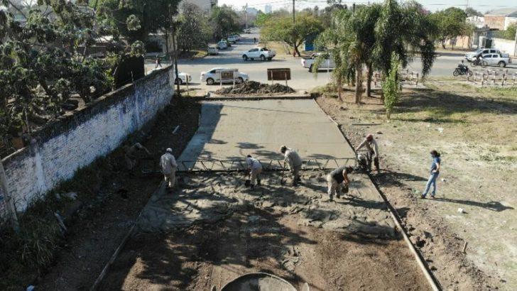 Resistencia: Vialidad Provincial inició la tercera etapa de pavimento en Villa Seitor