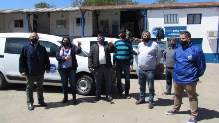 Sameep adquirió vehículos para optimizar el servicio del departamento medidores