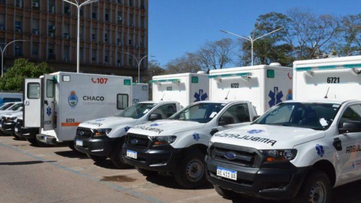 Siete localidades recibieron ambulancias 4X4 cero kilómetros