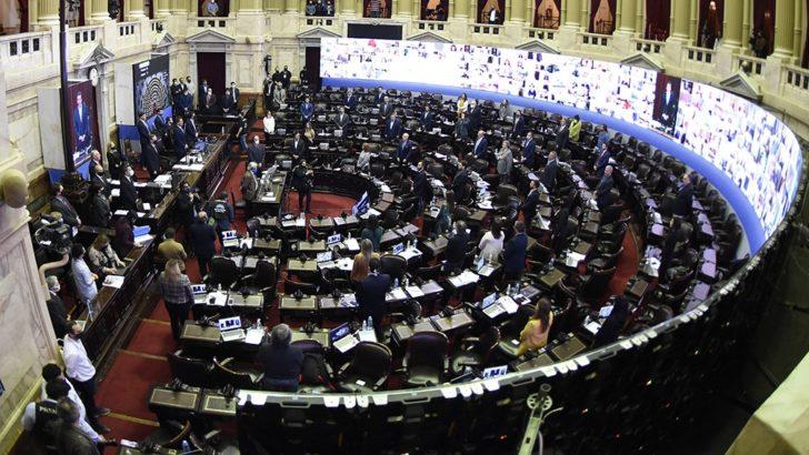Tras el boicot de Juntos por el Cambio, se inició la sesión mixta en Diputados