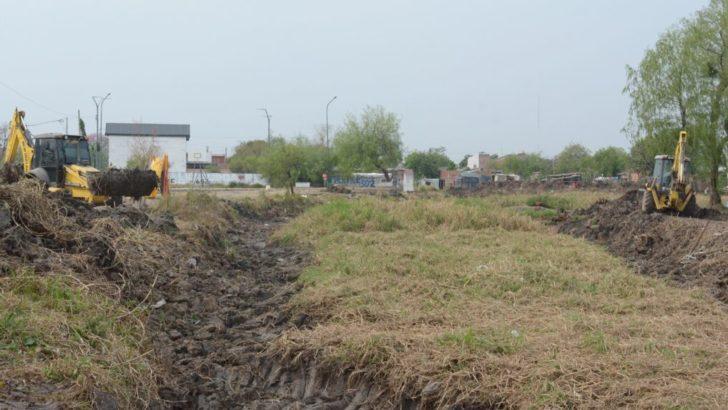 Villa Prosperidad: Municipio y APA articularon acciones para reacondicionar una laguna