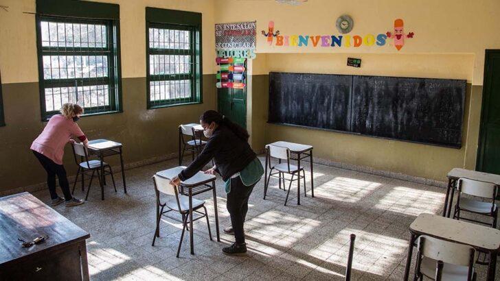 Detallan precisiones sobre la vuelta a clases, que podría darse la semana que viene, en lugares sin Covid