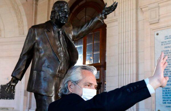 """Alberto rindió homenaje a Néstor: """"Mi deber es terminar con la tarea que empezó y siguió Cristina"""""""