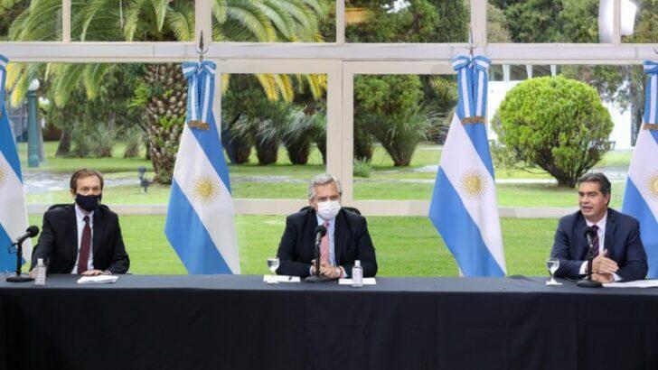 Alberto y Capitanich ratificaron el préstamo del Fonplata para fortalecer la salud