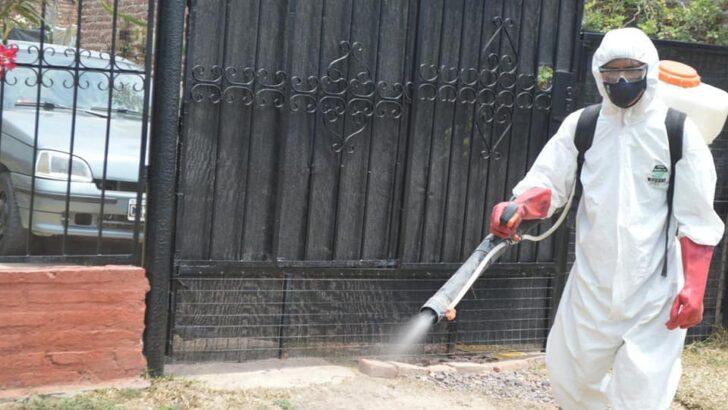 Barranqueras: el Municipio continúa con los operativos de desinfección para prevenir enfermedades