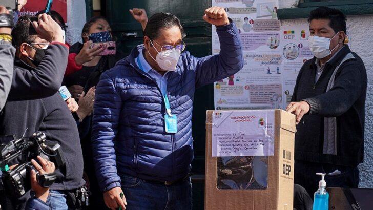 Bolivia: el candidato del MAS, Luis Arce ganó las elecciones en primera vuelta