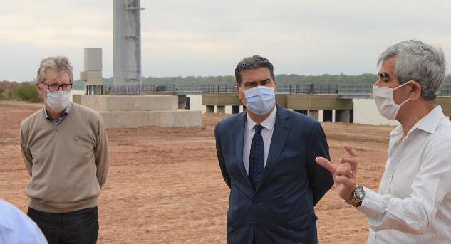 """Acceso a Puerto Las Palmas: Sager se mostró orgulloso de """"integrar una Legislatura que apuesta al desarrollo"""""""