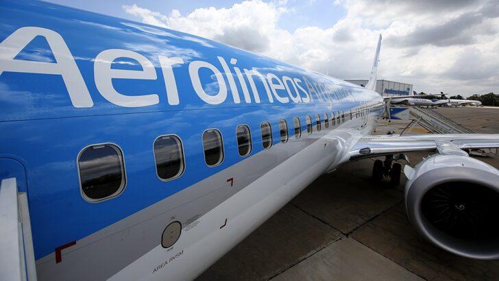 Aerolíneas Argentinas vuelve a volar