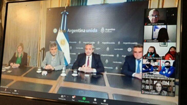 Chaco, presente en la reunión de la Corriente Nacional de la Militancia con Alberto Fernández