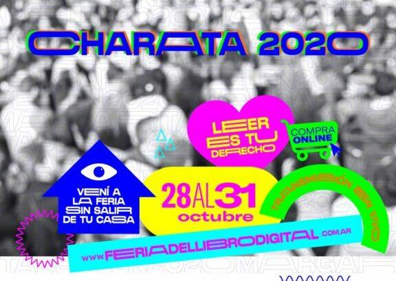 Charata afina la agenda para su Feria del Libro Federal y Digital