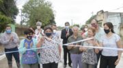 Colonia Elisa: Capitanich, Maidana y vecinos inauguraron pavimento y recorrieron obras