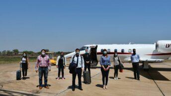 Covid 19 en Chaco: una comitiva nacional llegó para trabajar sobre estrategias territoriales y articulación de programas