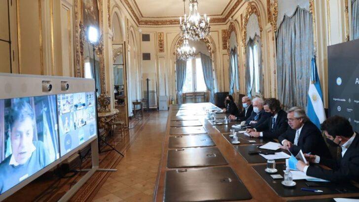 Covid 19 en el país: Alberto y los gobernadores analizaron la situación sanitaria, de cara a la nueva fase del aislamiento