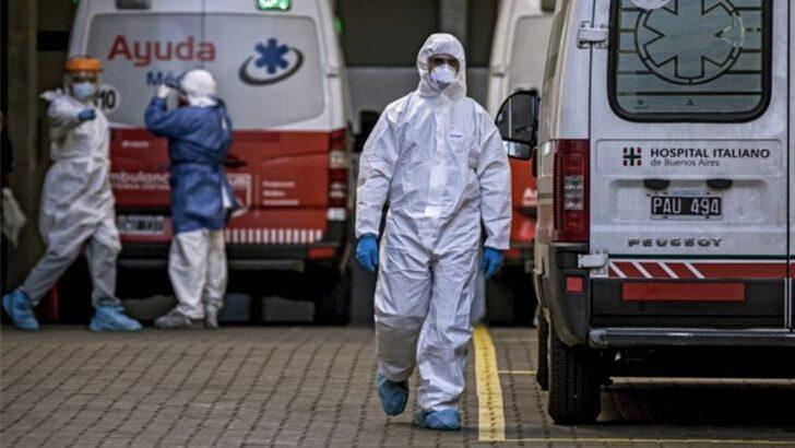 Covid 19 en el país: otras 406 personas murieron y 11.712 fueron diagnosticadas en las últimas 24 horas