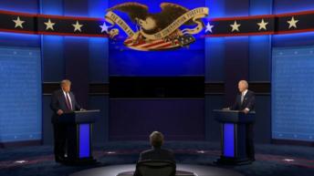 EEUU: tras el debate, Trump lo calificó «divertido» y Biden lo acusó de ser «una vergüenza»