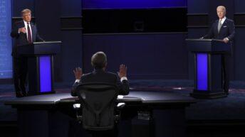 EEUU: Trump y Biden protagonizan el último debate antes de las elecciones