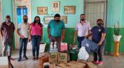 Escuelas de ocho localidades se preparan para la vuelta a clases