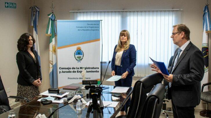 Gloria Zalazar juró como presidenta del Consejo de la Magistratura