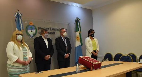 Juraron los consejeros titulares y suplentes de la Legislatura en el Consejo de la Magistratura