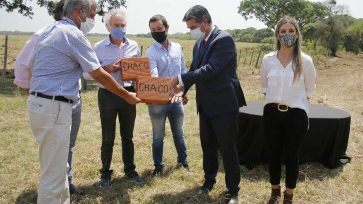 Capitanich y empresarios definen detalles para la instalación de una fábrica de ladrillos biocerámicos