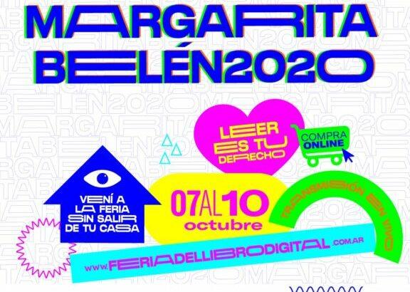Margarita Belén vive a pleno su Feria del Libro